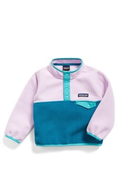 Patagonia Synchilla® Snap-T® Fleece Pullover (Baby Girls)