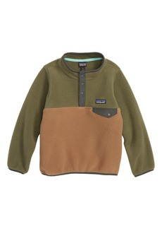Patagonia Synchilla® Snap-T® Fleece Pullover (Little Boys)