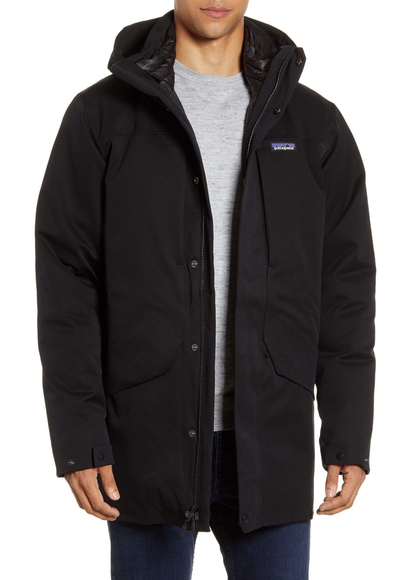 Patagonia Tres 3-in-1 Water Repellent 700 Fill Power Down Parka