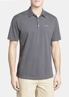 Patagonia Trout Fitz Roy Regular Fit Organic Cotton Polo