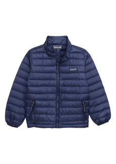 Patagonia Water Repellent 600-Fill Power Down Sweater Jacket (Toddler, Little Boy & Big Boy)