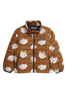 Patagonia Water Repellent 600 Fill Power Down Sweater Jacket (Toddler)