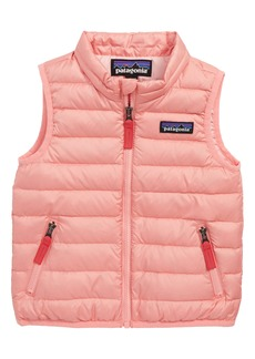 Patagonia Water Repellent Down Sweater Vest (Baby Girls)