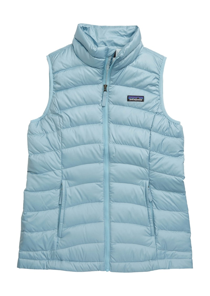 Patagonia Water Repellent Down Vest (Little Girls & Big Girls)