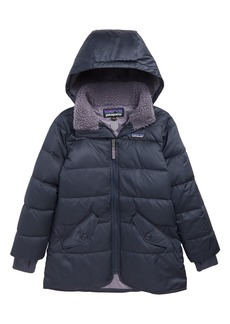 Patagonia Water Repellent Recycled Down Parka