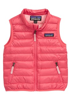 Patagonia Water Repellent Recycled Down Sweater Vest (Baby)