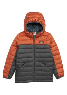 Patagonia Water Repellent Reversible Down Sweater Hoodie (Little Boys & Big Boys)