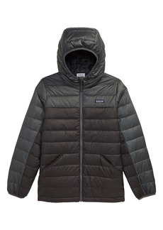 Patagonia Water Repellent Reversible Down Sweater Hoodie (Little Boy & Big Boy)