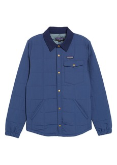 Patagonia Wind & Water Resistant Quilted Shirt Jacket (Little Boys & Big Boys)