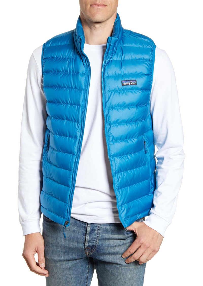 Patagonia Windproof & Water Resistant 800 Fill Power Down Quilted Vest