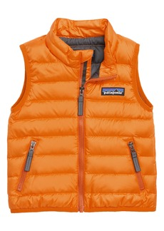 Patagonia Windproof & Water Resistant Down Sweater Vest (Baby Boys)