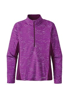Patagonia Women's All Weather Zip Neck Top
