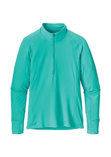 Patagonia Women's All Weather Zip Neck Top