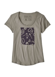 Patagonia Women's Batik Gear Organic Scoop T-Shirt