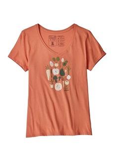 Patagonia Women's Harvest Haul Organic V Neck T-Shirt