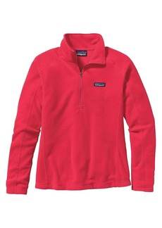 Patagonia Women's Micro D 1/4 Zip Top