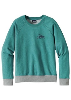 Patagonia Women's Small Flying Fish Midweight Crew