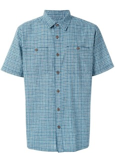 Patagonia plaid boxy shirt