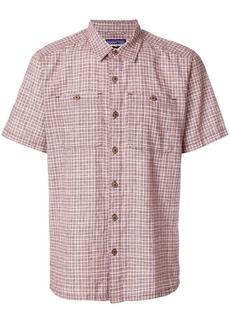 Patagonia plaid straight hem shirt