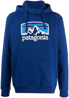 Patagonia relaxed-fit logo hoodie