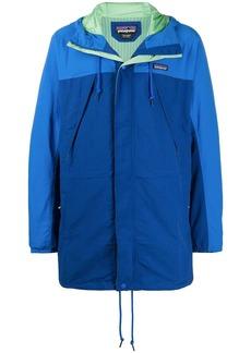 Patagonia zip up panelled jacket