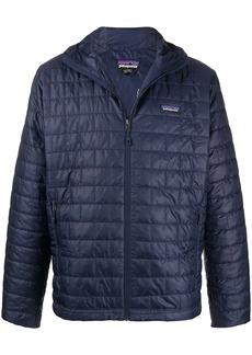 Patagonia zip up square-quilt jacket
