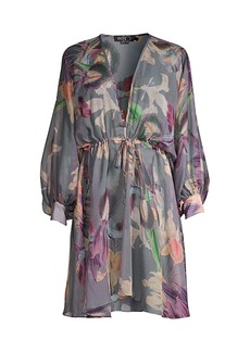 PatBO Grace Floral Cover-Up