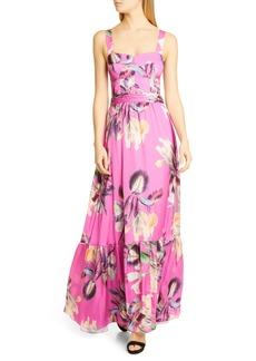 PatBO Grace Floral Maxi Dress