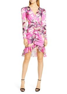 PatBO Grace Long Sleeve Cocktail Dress