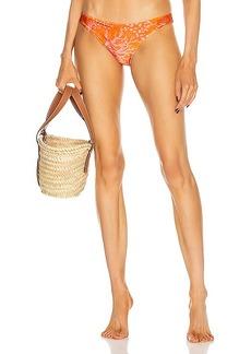 PatBO Coral Bikini Bottom