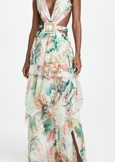 PatBO Oasis Cutout Dress