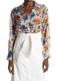 Paul & Joe Alma Floral Long Sleeve Tunic Blouse