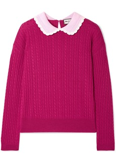 Paul & Joe Cable-knit Wool Sweater