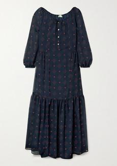 Paul & Joe Chaland Floral-print Jacquard Maxi Dress