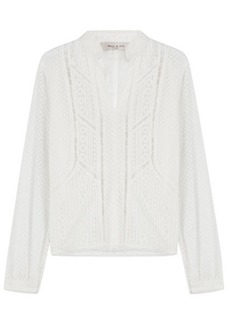Paul & Joe Embroidered Blouse