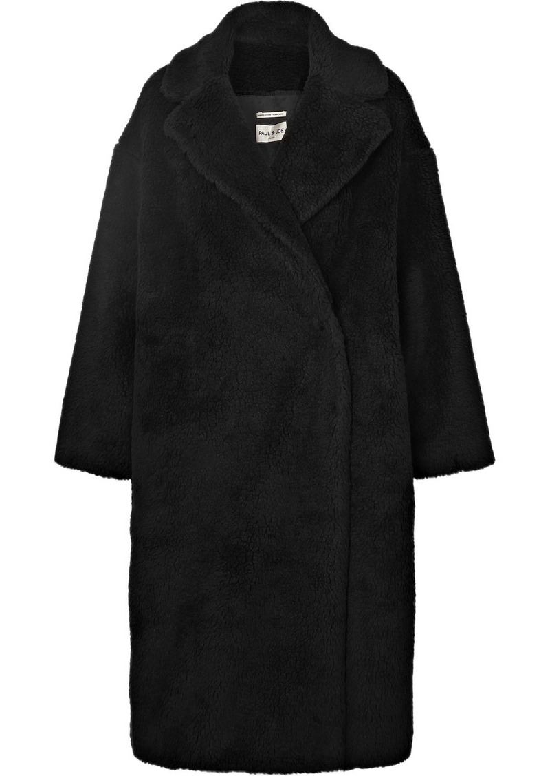 Paul & Joe Faux Shearling Coat