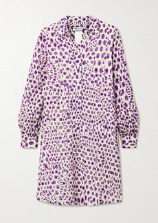 Paul & Joe Floral-print Fil Coupé Cotton Dress