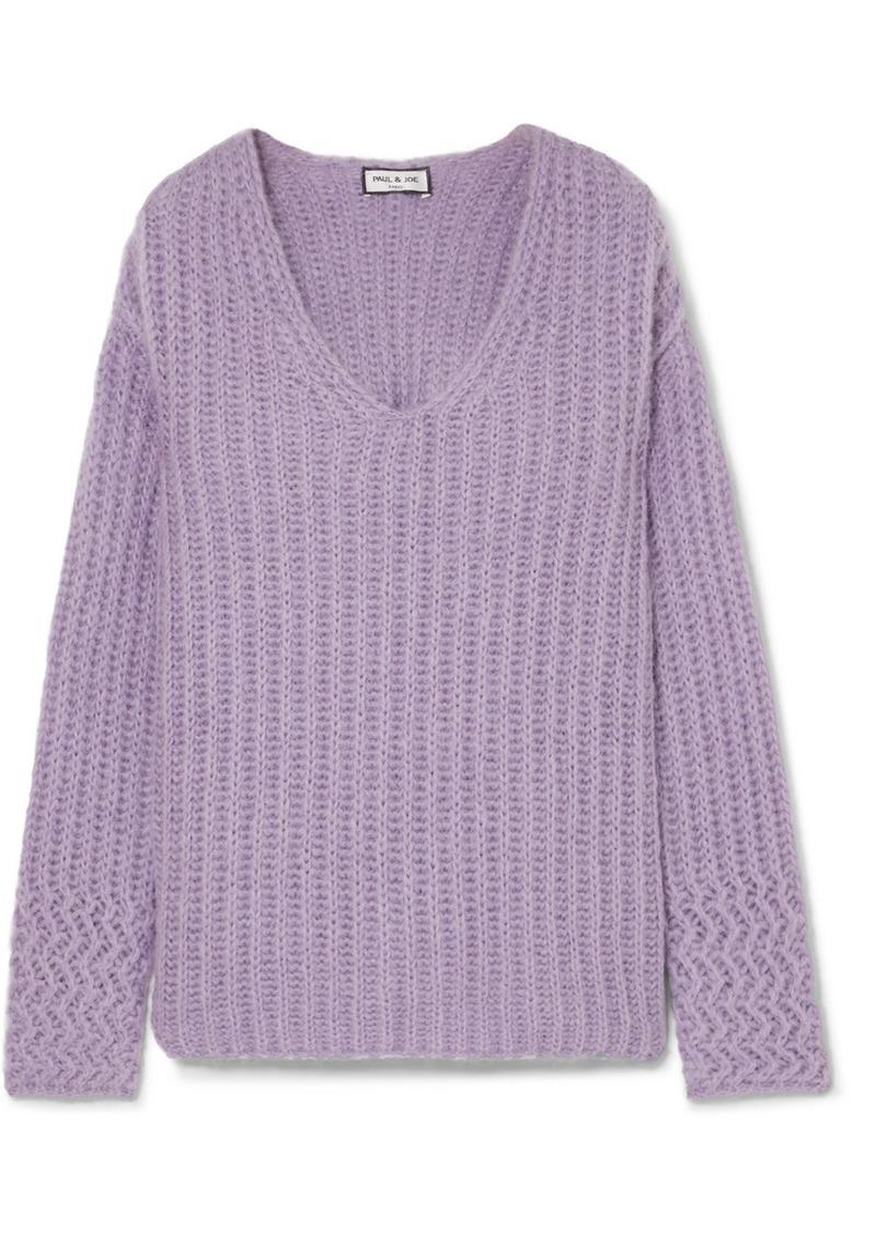 Paul & Joe Joris Oversized Ribbed-knit Sweater