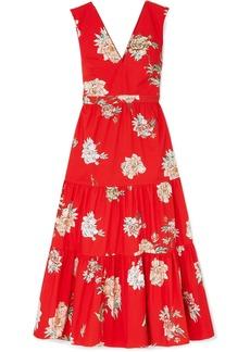 Paul & Joe Jtania Floral-print Cotton-poplin Maxi Dress