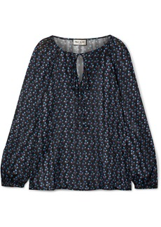 Paul & Joe Lolita Floral-print Crepe De Chine Blouse