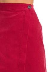 Paul & Joe Luiza Corduroy Midi Skirt