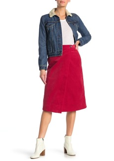 Paul & Joe Luiza Corduroy Midi Skirt