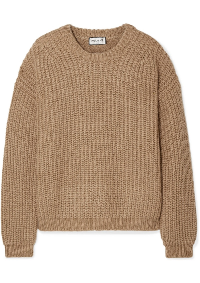 Paul & Joe Malicieux Ribbed-knit Sweater