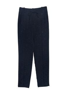 Paul & Joe Monoi Floral Jacquard Tie Waist Trousers