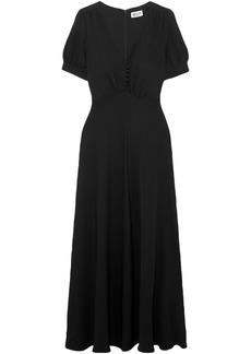 Paul & Joe Woman Becca Crepe Maxi Dress Black