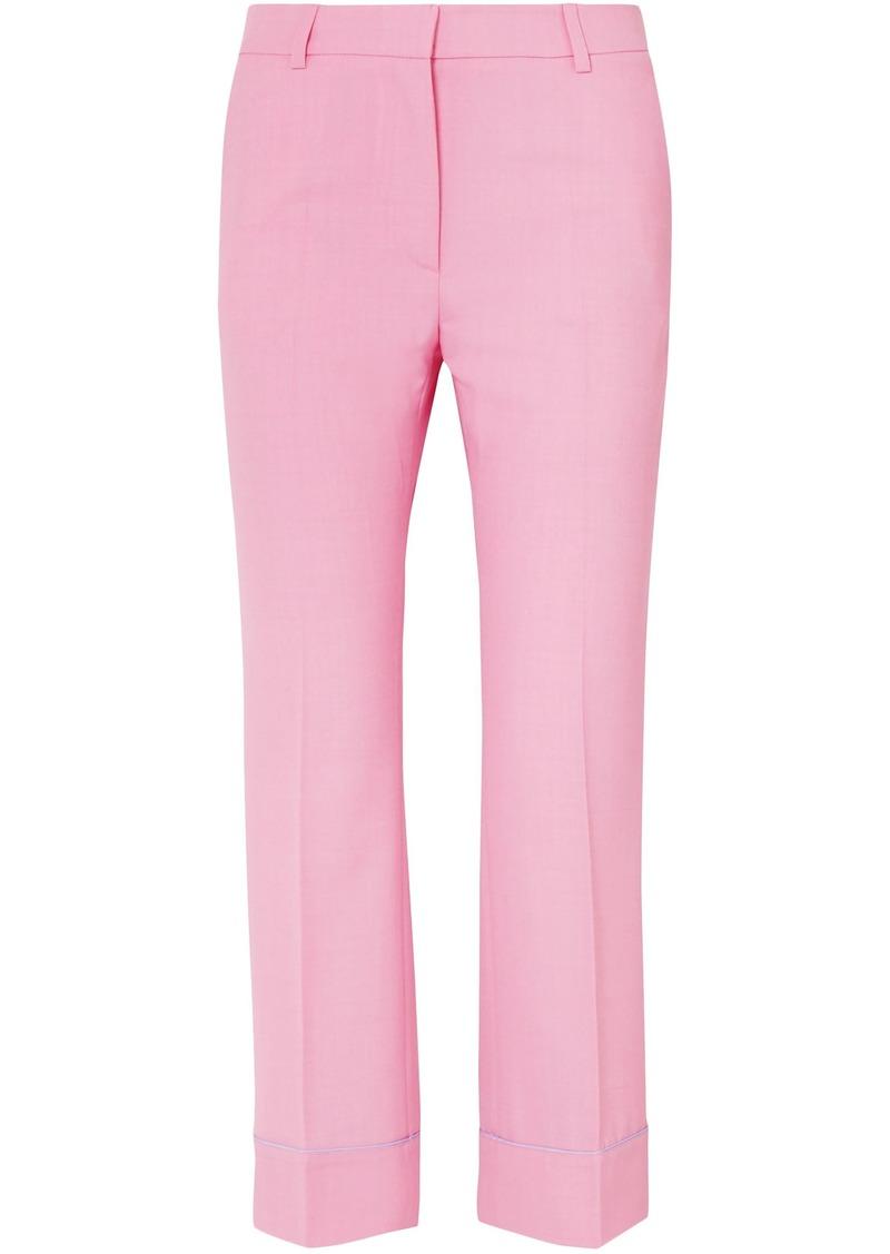Paul & Joe Woman Woven Straight-leg Pants Bubblegum