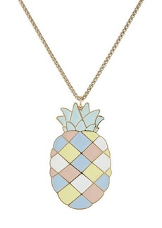 Paul & Joe Pineapple Pendant Necklace