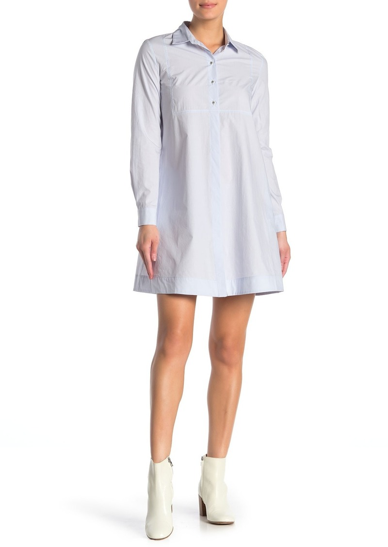 Paul & Joe Poplin Mini Shirt Dress