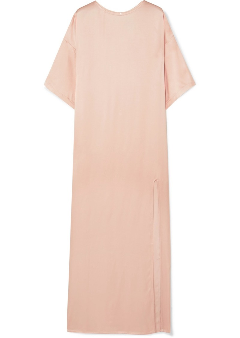 Paul & Joe Satin Maxi Dress