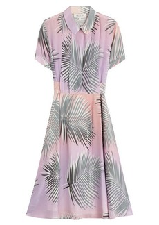 Paul & Joe Silk Palm Print Dress